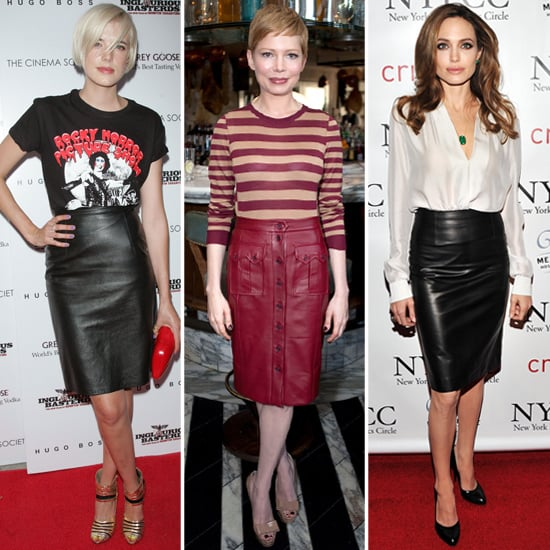9 Stylish Celebs Show Many Reasons to Invest in a Leather Pencil Skirt