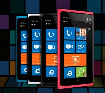 Nokia Lumia 900 Windows Phone ($50 with contract, $450 without)
