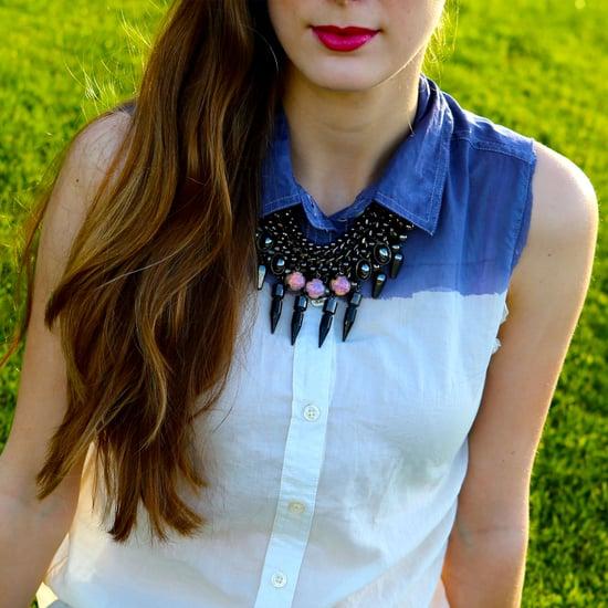 DIY Ombre Button-Up Shirt | Video