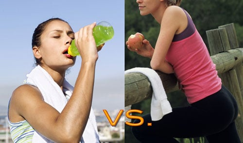 Real Food vs. Energy Bars and Sports Drinks