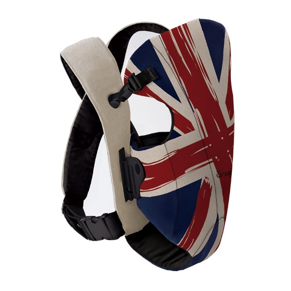 Wrap your baby up in the Union Jack with Sungli's front baby carrier ($48), and keep her comfortably nestled against Mama throughout the day.