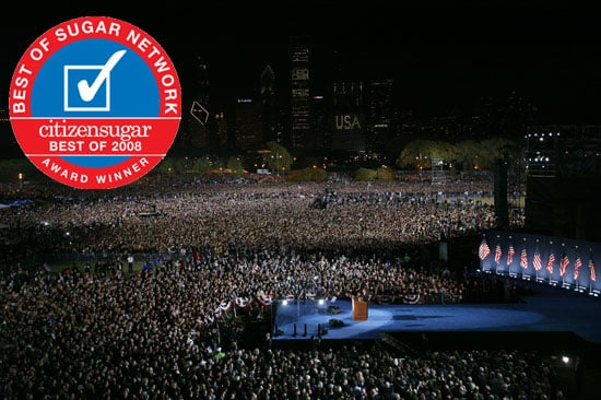 Favorite Barack Obama Moment of 2008: Election Night Victory Speech