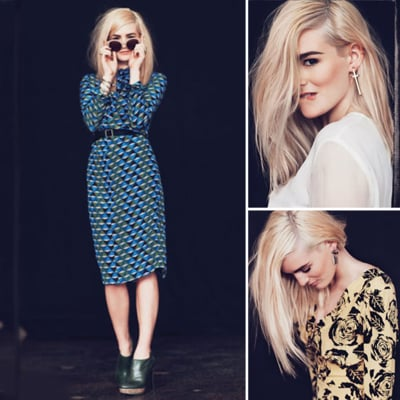 Nicole Richie's Winter Kate and House of Harlow 1960 Autumn Winter 2012 Look Book Is Boho Perfect