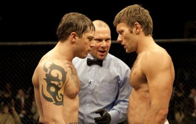 Tom Hardy and Joel Edgerton, Warrior