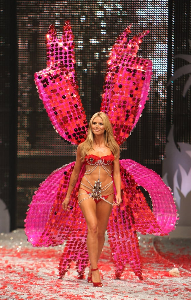 All eyes were on Heidi Klum in November 2008 at the Victoria's Secret show.