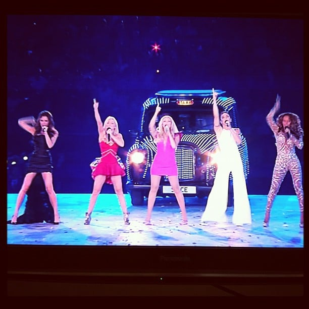 We were glued to the office TV when the Spice Girls hit the stage at the 2012 London Olympics.