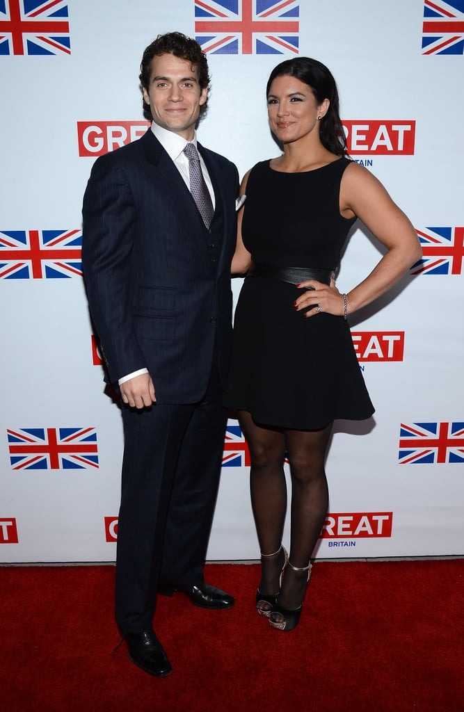 Henry Cavill and Gina Carano stepped out for the Great British Film Reception in LA on Friday night.