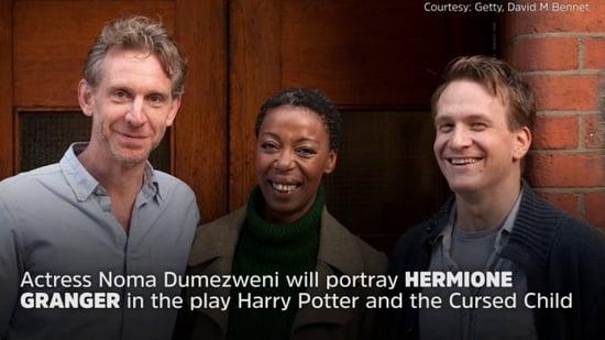 J.K. Rowling Responds to Black Hermione