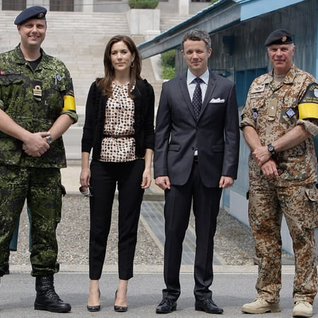 Princess Mary and Prince Frederik Pictures in Korea