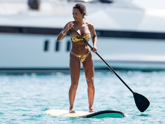 Mel B Loses 30 Lbs. and Flaunts Her Rock-Hard Abs in Ibiza