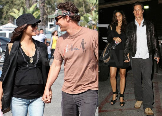 Matthew McConaughey and Camila Alves in West Hollywood