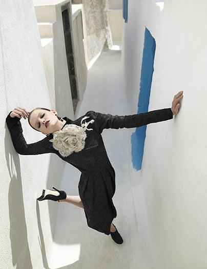 Girls on Film: Luis Monteiro Shoots Goth in Greece, Tatler