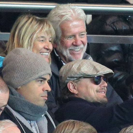Leonardo DiCaprio With Mom Irmelin at Soccer Game