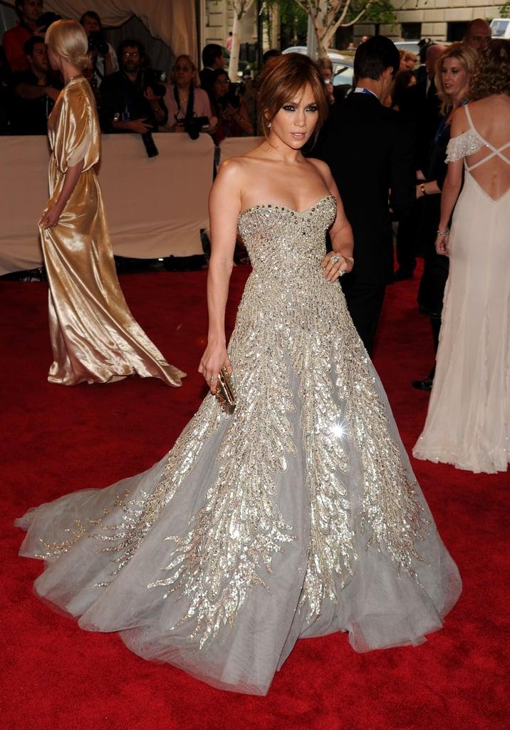 She left us speechless in a Zuhair Murad diamond-embellished strapless stunner at the 2010 Met Gala.