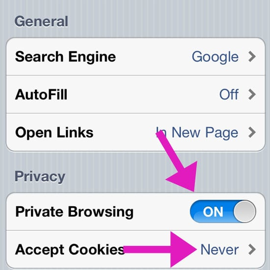 How to Browse Privately on Your iPhone or iPad