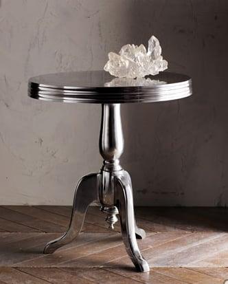 Crave Worthy:  Aluminum Wine Table