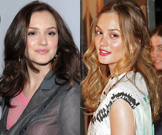 Leighton Meester With Blond Hair