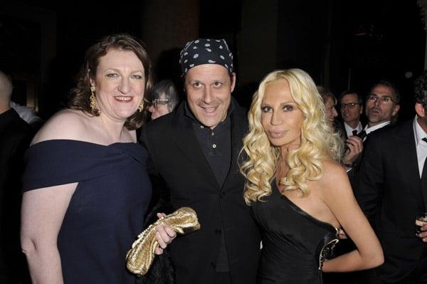 Glenda Bailey, Isaac Mizrahi, Donatella Versace.