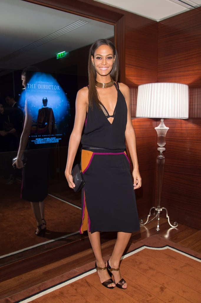 Joan Smalls in Gucci at the Gucci screening of The Director.