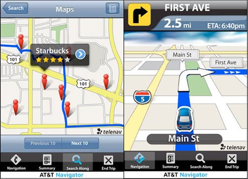 AT&T TeleNav GPS Application to Cost $10 a Month For Service