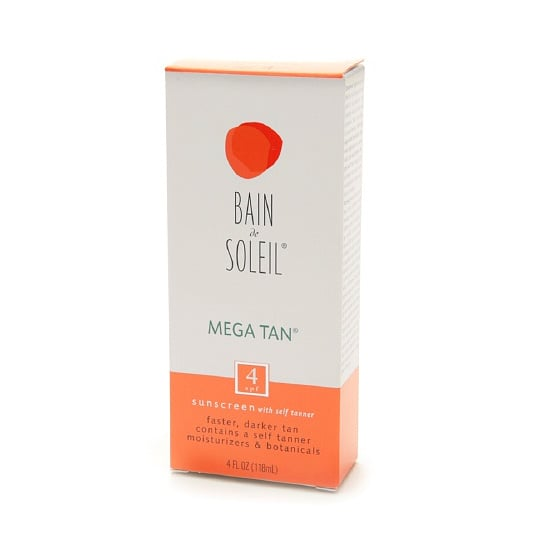 With Bain de Soleil's Mega Tan Sunscreen With Self-Tanner ($10), you'll get fast results. Apply it in the morning and your color will start to develop by the afternoon.