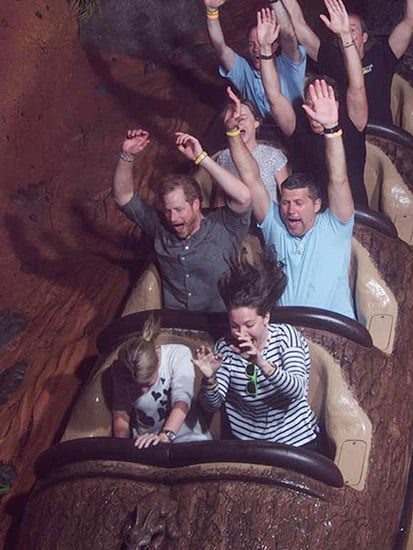 See Prince Harry Scream His Way Down Splash Mountain - 23 Years After His First Ride!