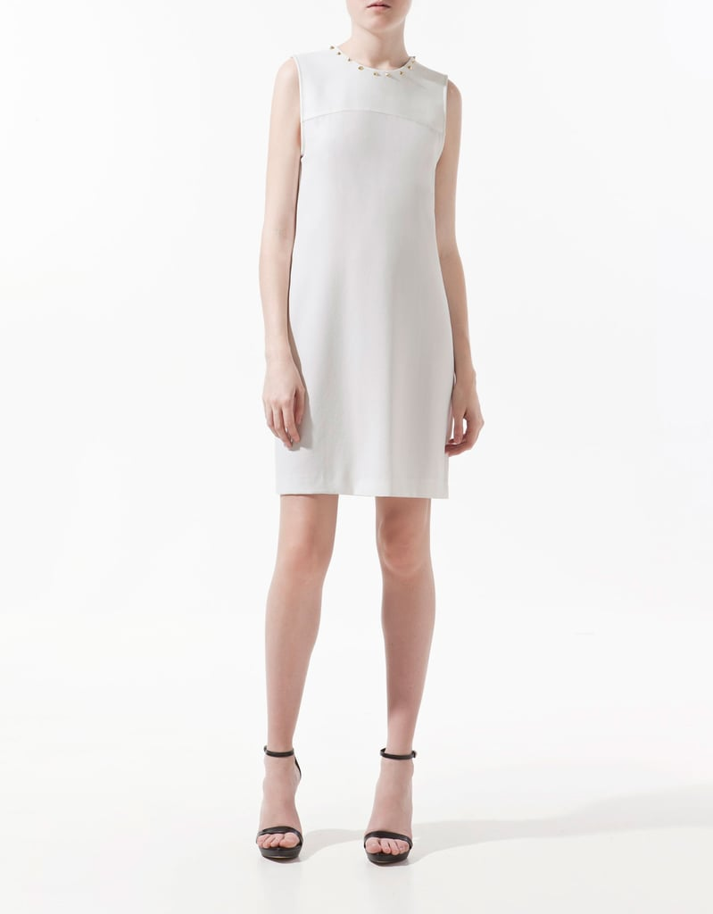 Zara Dress With Studded Collar ($90)