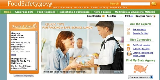 Obama Administration Rolls Out New Food-Safety Website