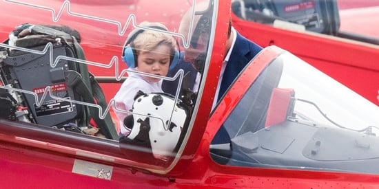 Please Enjoy These Photos Of Prince George Checking Out Some Planes