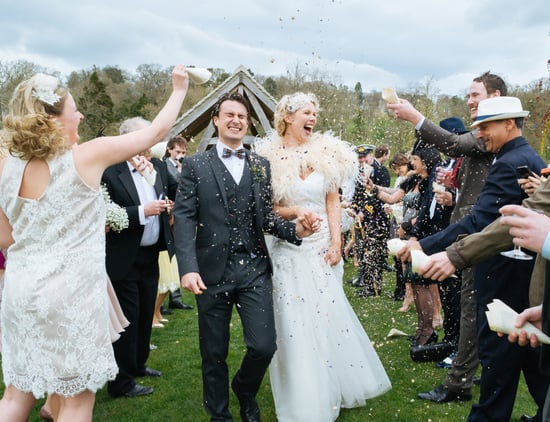 This 1920s-Themed Wedding Would Make Jay Gatsby Envious