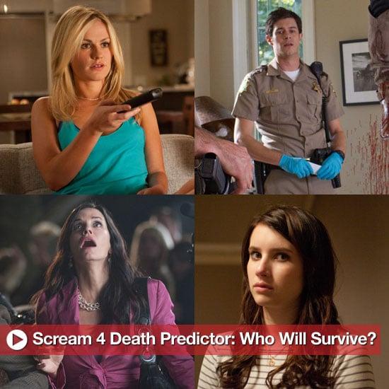 Scream 4 Death Predictions