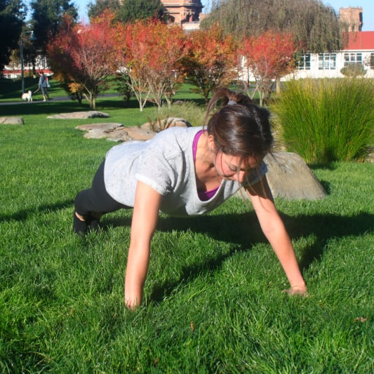 Push-Up Series Barre Workout