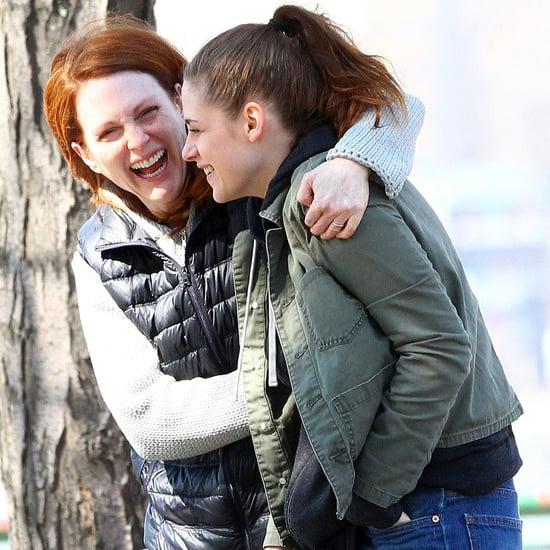 Kristen Stewart and Julianne More Filming Still Alice in NYC