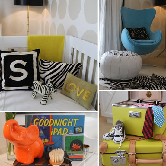 Chic in Chartreuse! Spencer's Color-Poppin' Nursery