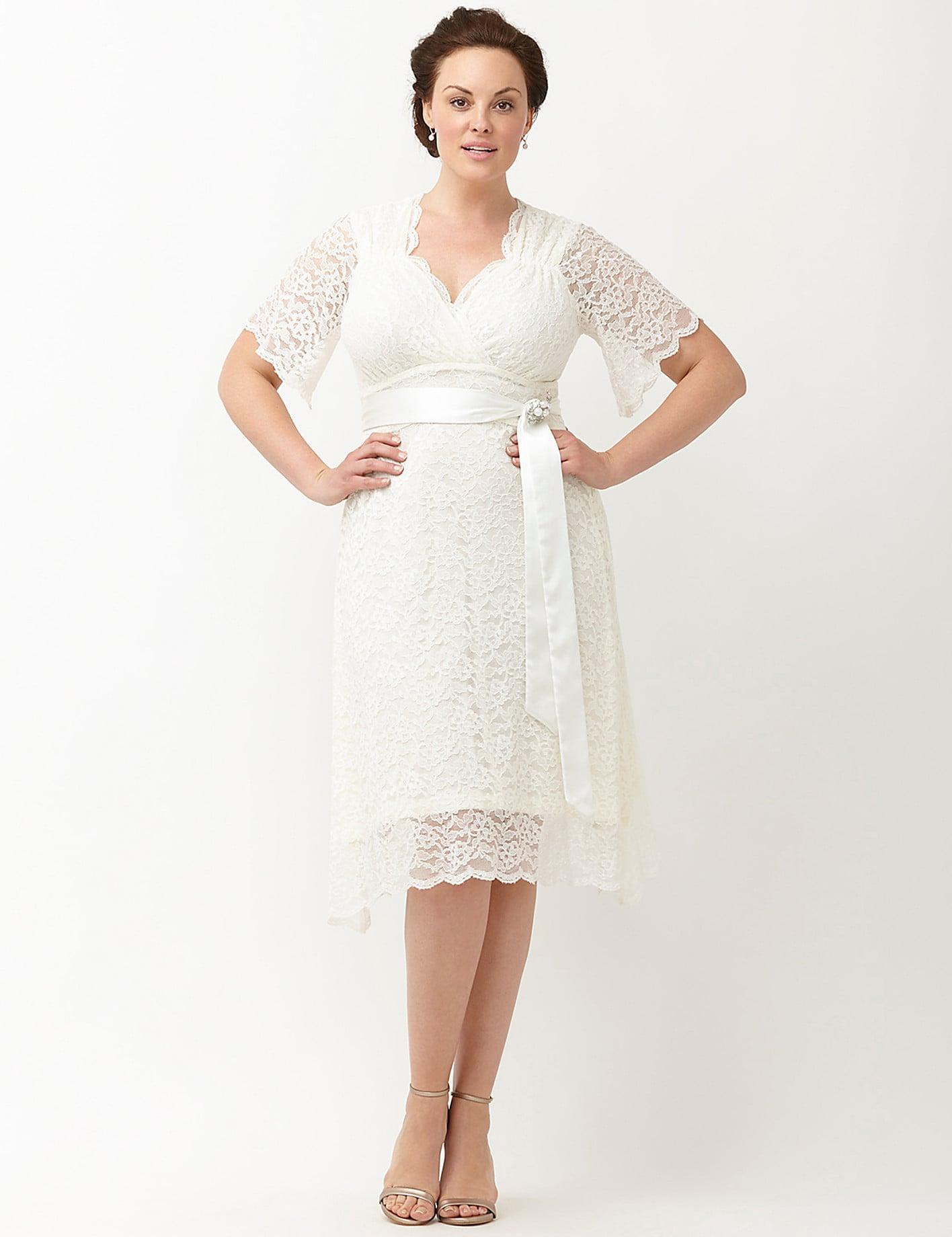 Kiyonna Lace Confection Wedding Dress 248 20 Gorgeous