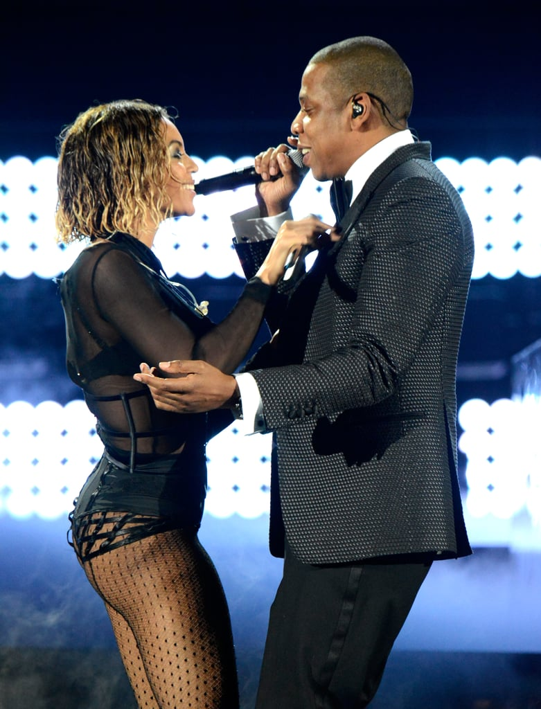 """Beyoncé and Jay Z delivered a sexy performance of """"Drunk in Love."""""""