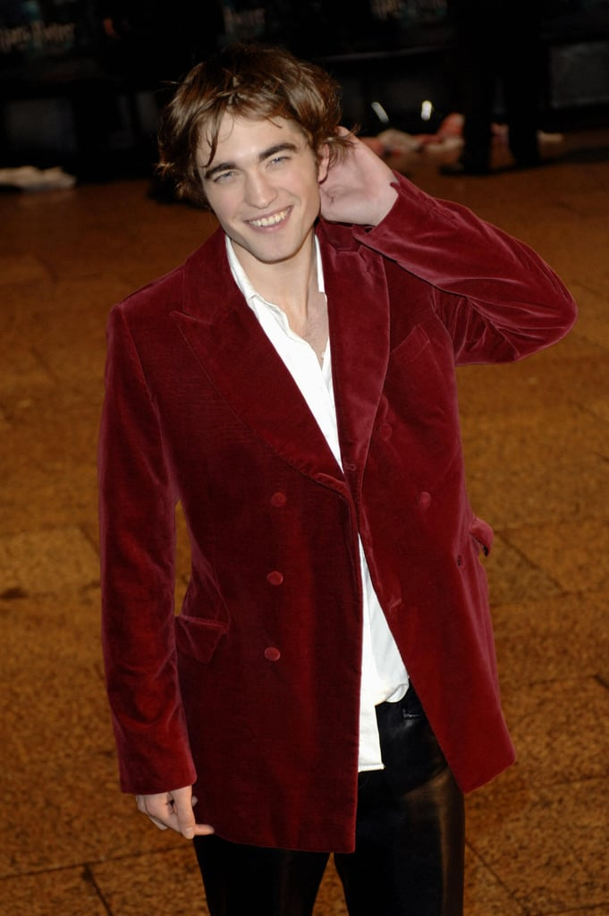Rob perfected his hair at the November 2005 London premiere of Harry Potter and the Goblet of Fire.