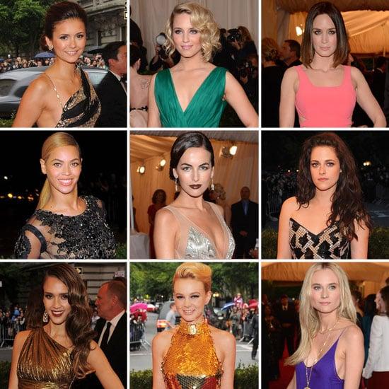 Celebrities at Met Gala 2012