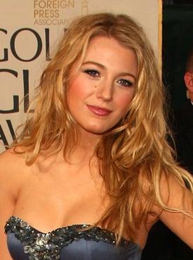 Blake Lively at the 2009 Golden Globe Awards