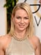 Naomi Watts was the epitome of California cool with fresh blond locks and rosy cheeks.