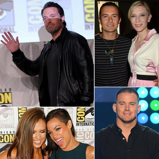 Celebrities at 2014 Comic-Con