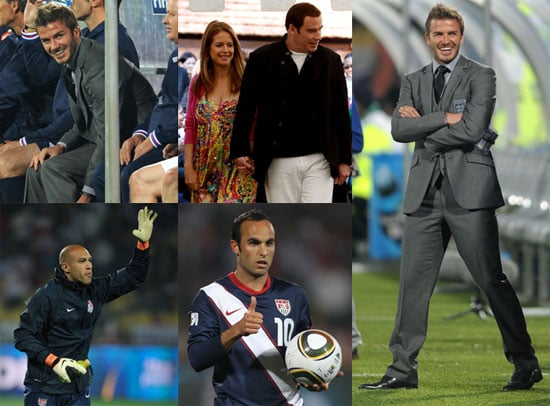 Pictures of David Beckham, Landon Donovan, Tim Howard And More at The 2010 World Cup 2010-06-14 02:00:00