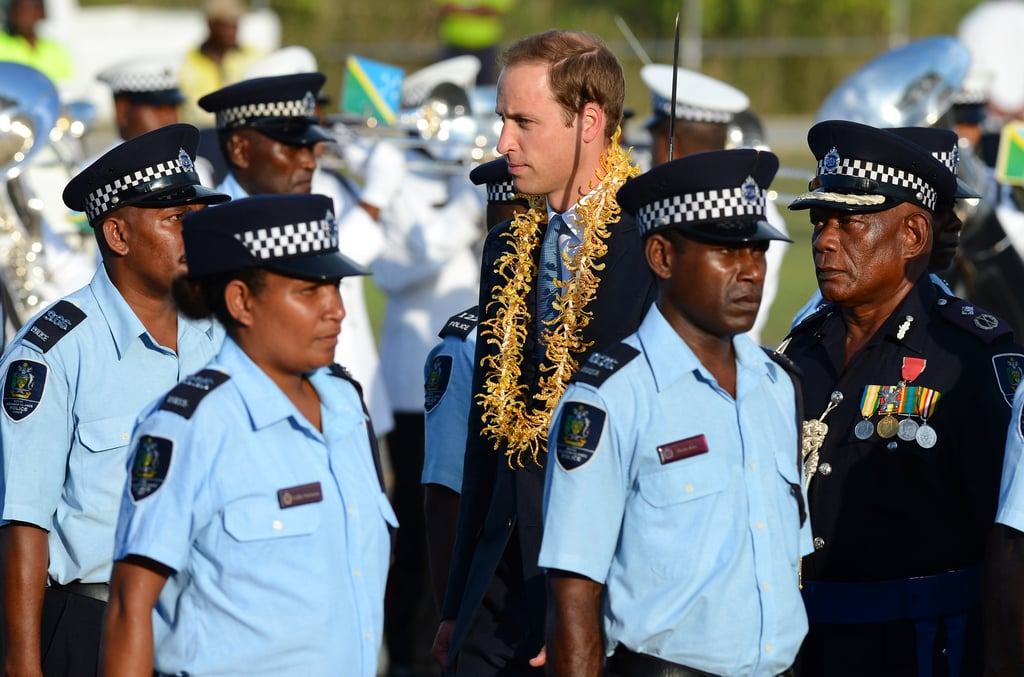 William and Kate Get a Bright, Traditional Reception at the Solomon Islands
