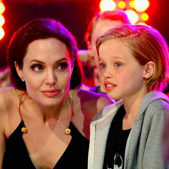 Angelina Jolie Shiloh Lebanon Trip