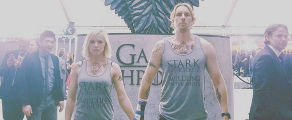 Only Kristen Bell and Dax Shepard Would Geek Out This Much at the Game of Thrones Premiere