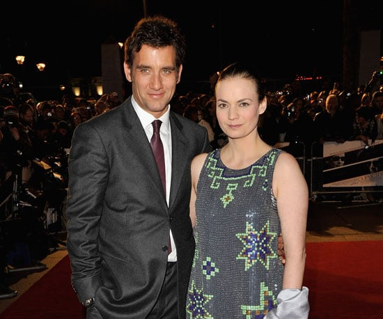 Photo of Clive Owen and His Wife Sarah-Jane Fenton at the UK Premiere of Duplicity