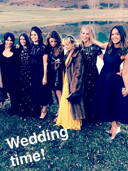 Katy Perry, Jessica Alba and Kate Hudson Party the Night Away in Aspen During Star-Studded Wedding