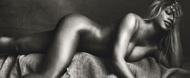 OITNB's Laverne Cox Is Basically a Bronzed Goddess in Allure's Nude Issue