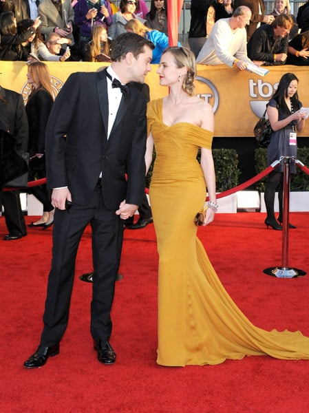Diane dazzled in marigold Jason Wu at the 2010 SAG Awards.