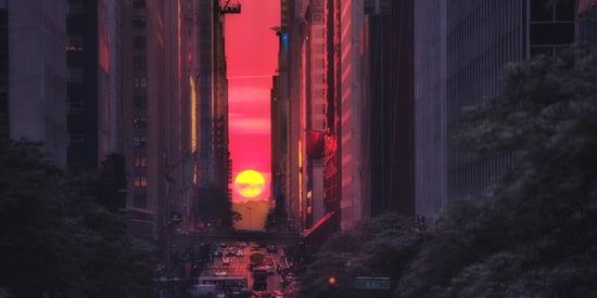 Manhattanhenge Returns To The Big Apple For The Last Time In 2016